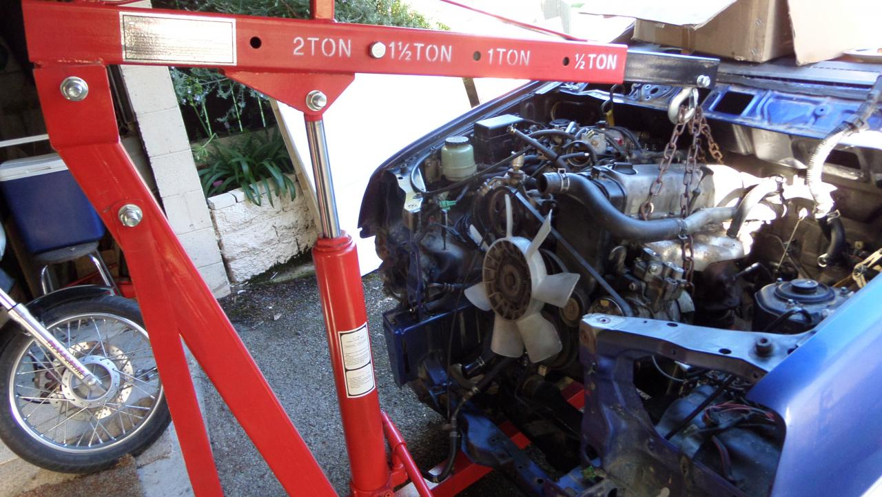 Terios Engine removal - Terios / Taruna - Forum - Daihatsu club
